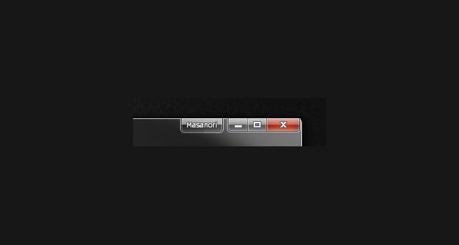 Chromeの縮小ボタン横に現れた名前